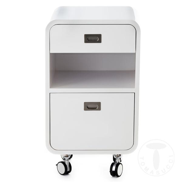 tavolino / comodino 2 cassetti PLANO