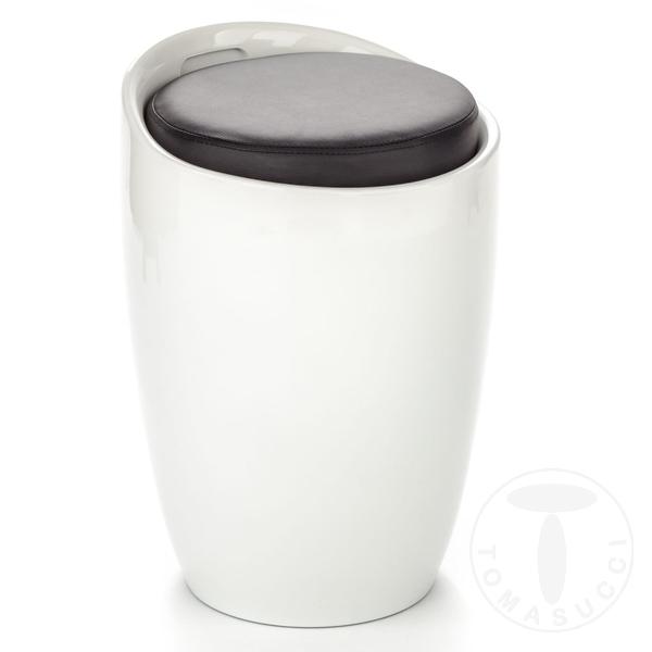 pouff / contenitore PILLOW WHITE