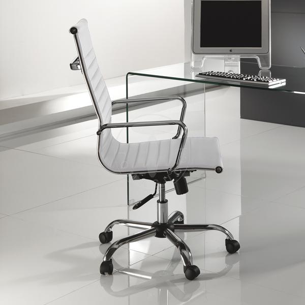 office armchair TASK WHITE