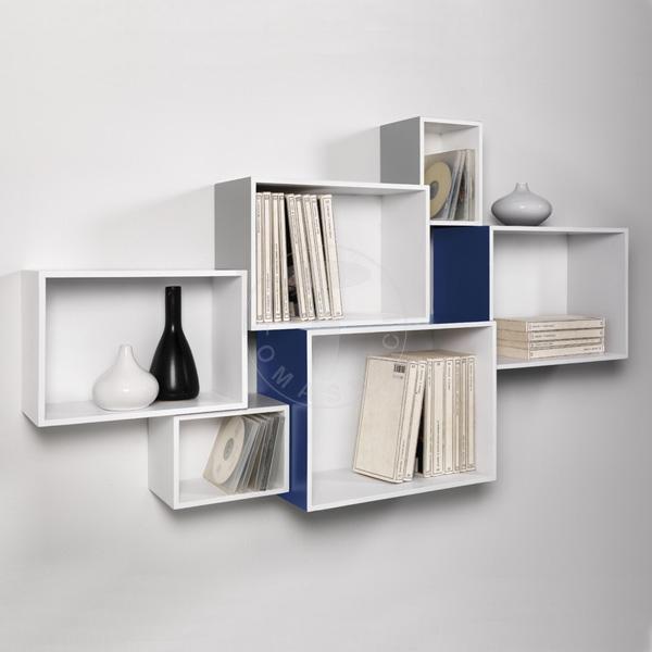 set 6 wall cubes MOSAIKO