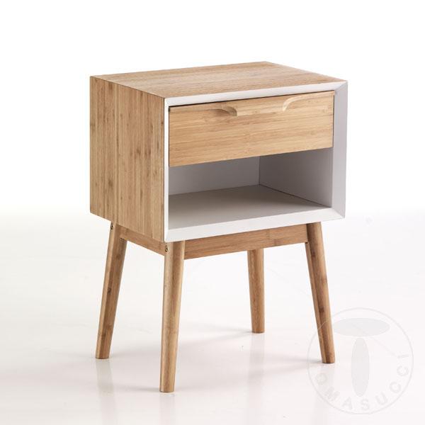 comodino / tavolino HIJO WHITE