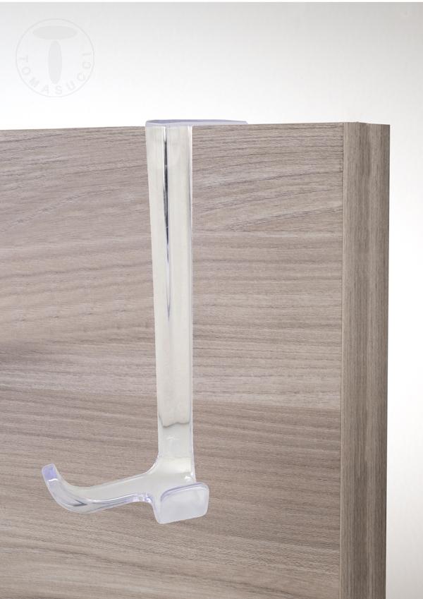 Articoli da bagno gancio appendiabiti per porta for Articoli da bagno