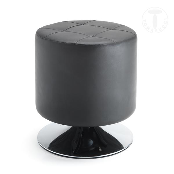 pouf girevole ZOOM BLACK