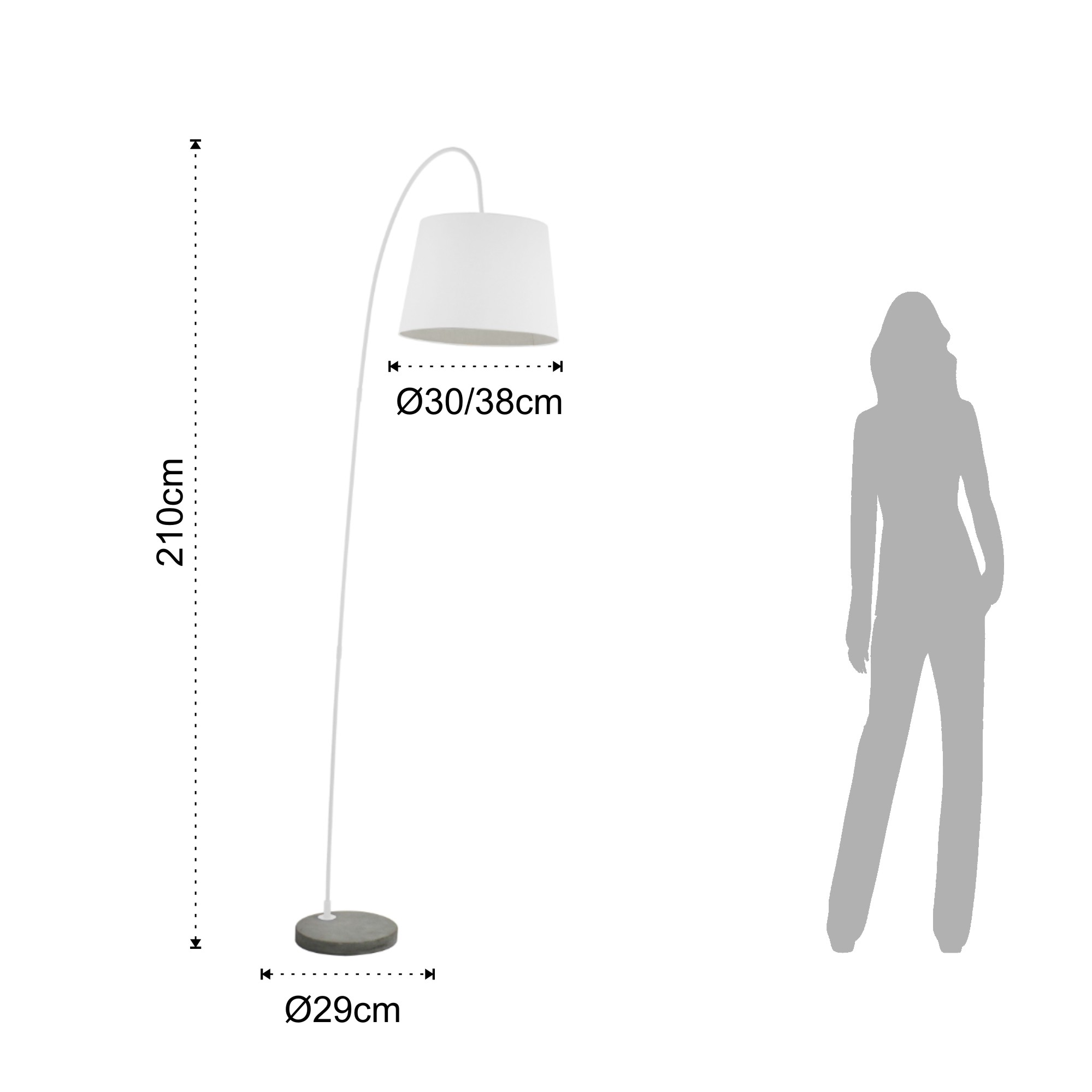 ground lamp LITTLE SMARTY WHITE