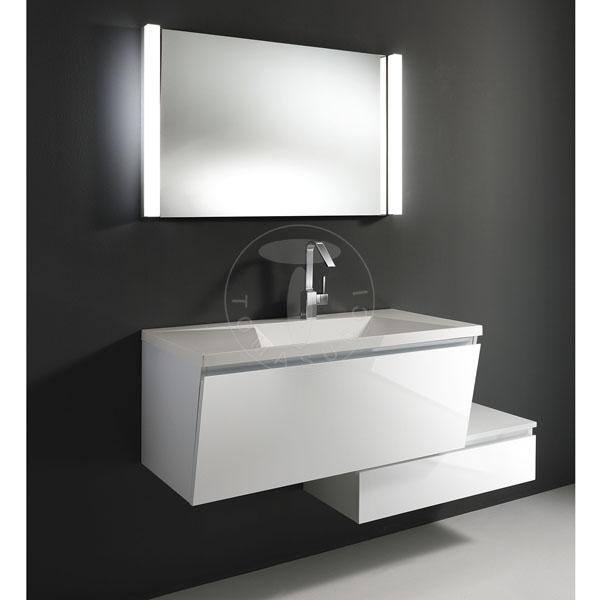 Bagni mobile bagno b051 - Mobile bagno bianco lucido ...