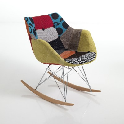 rocking armchair KALEIDOS