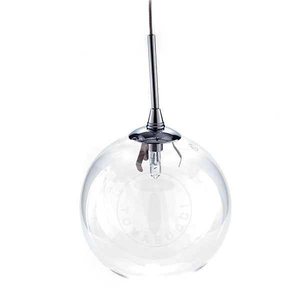 sfera in vetro per lampadario 0409