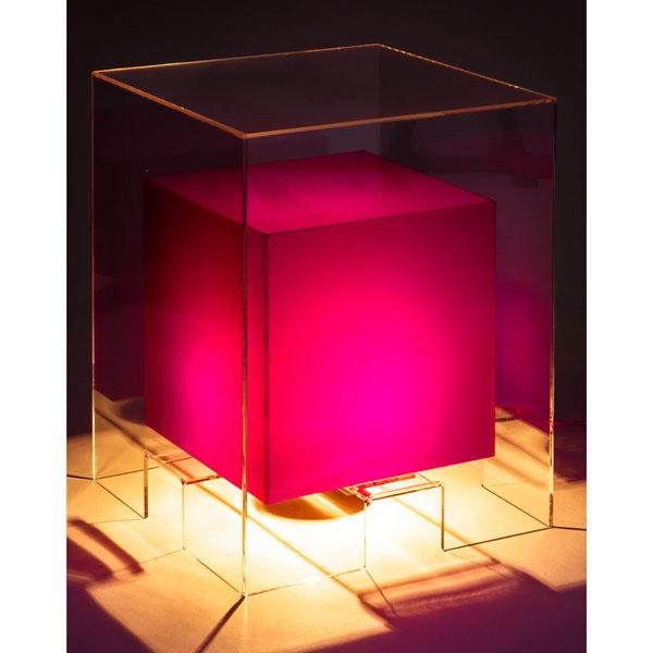 tavolino luminoso SPACE PURPLE