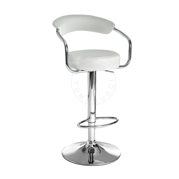 sgabello bar CRUX WHITE