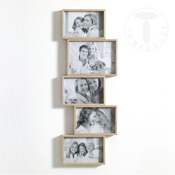 Portafoto e orologi portafoto da parete random 5f for Portafoto verticale da parete