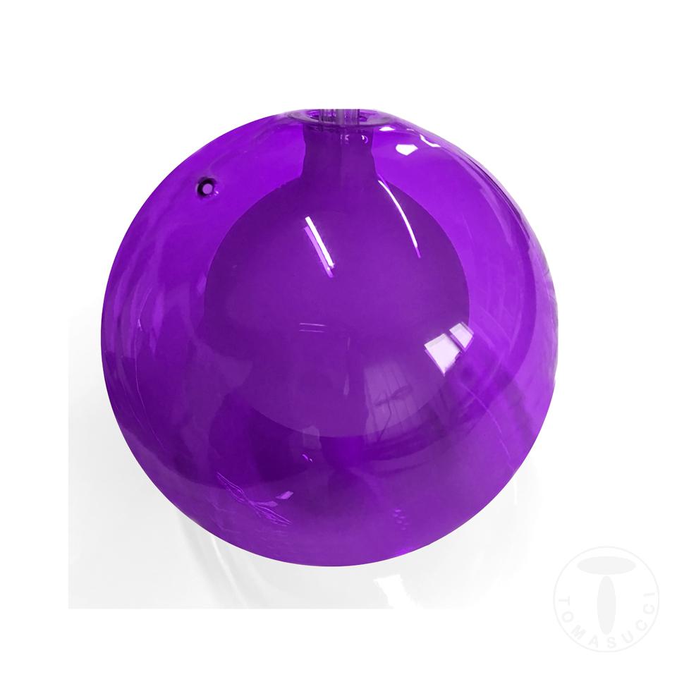 sfera in vetro VIOLA per lampadario 2732
