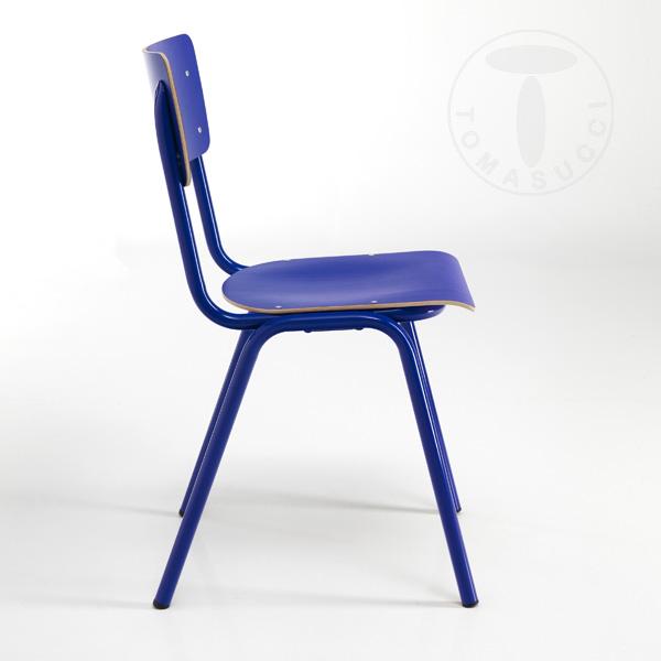 Sedia SCHOOL BLUE