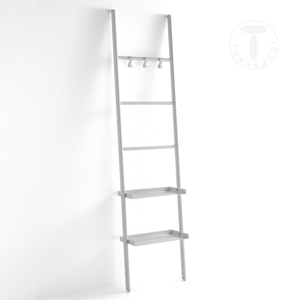 Articoli da bagno scaffale p asciugamani rail white for Scaletta decorativa