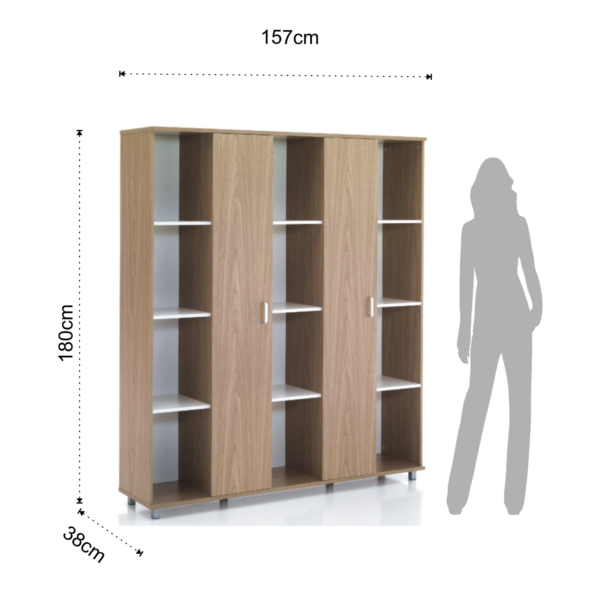 libreria 12 vani + 2/a SET-UP