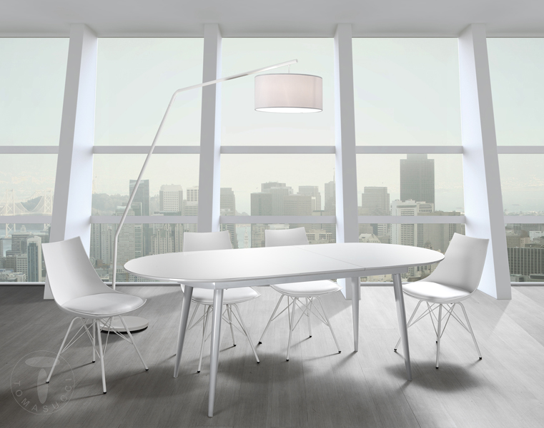 Tavoli fissi e allungabili tavolo ovale allungabile astro for Tavolo ovale allungabile moderno