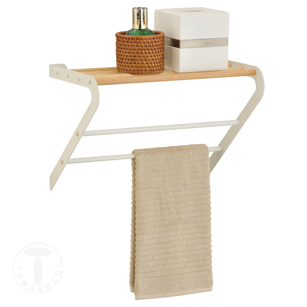 Articoli da bagno porta asciugamani da parete rino for Articoli da bagno