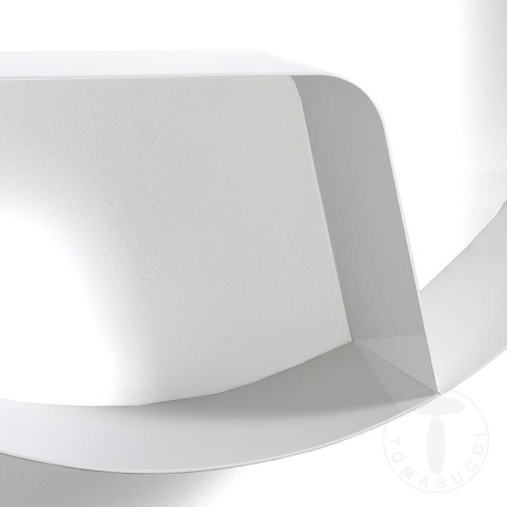 Mensola / Libreria da parete  GIOVO WHITE