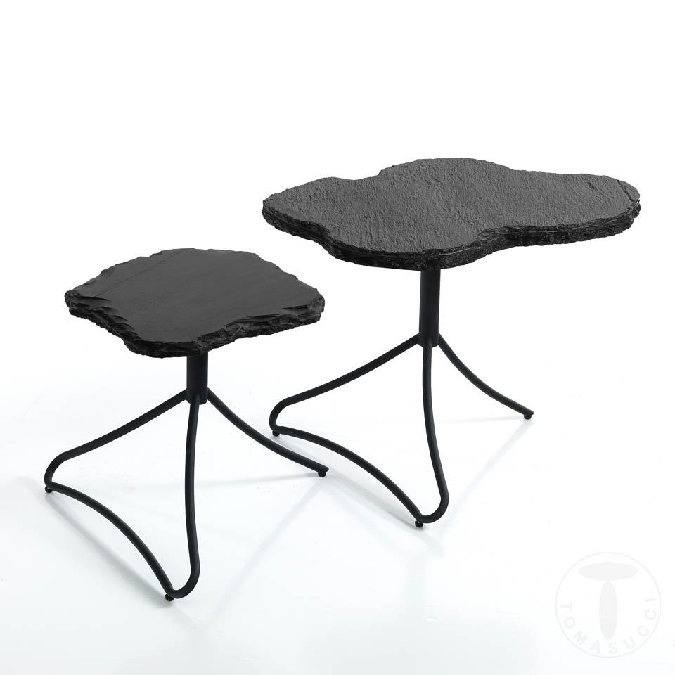set 2 tavolini / comodini ROCK