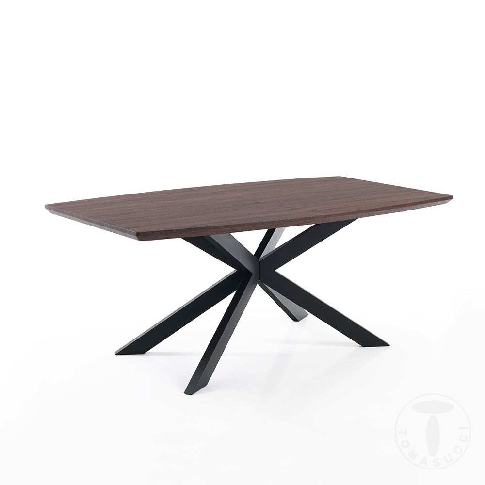 Shoes Extendable Table Hics Dark Wood