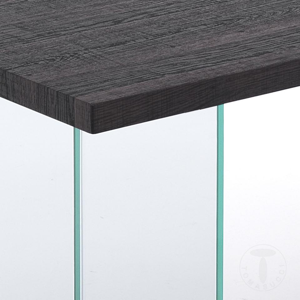 tavolo / scrivania PILVI DARK WOOD