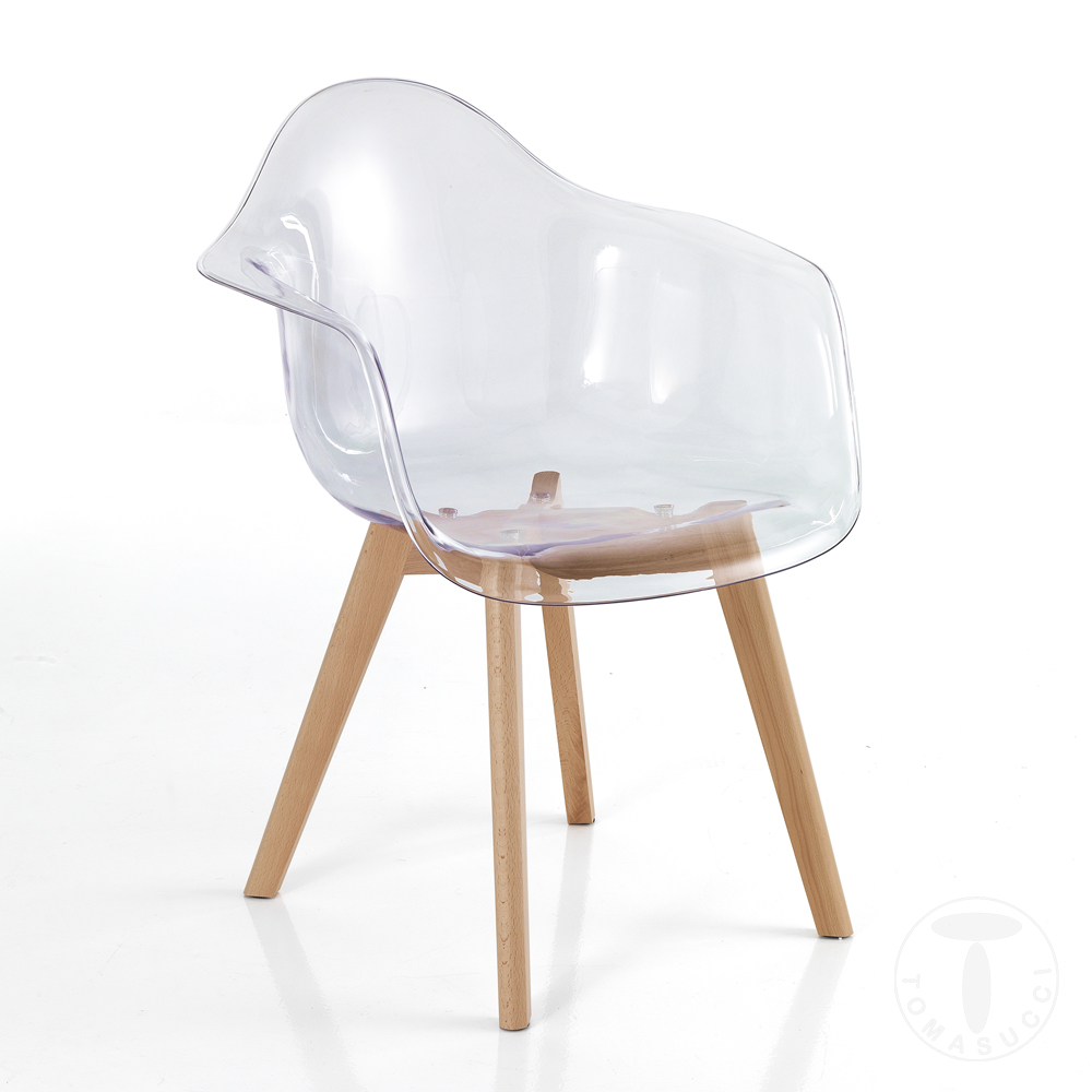 Novita Chair Kiki Egg Clear