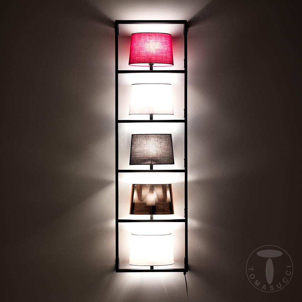 lampada da parete verticale JUMBLE