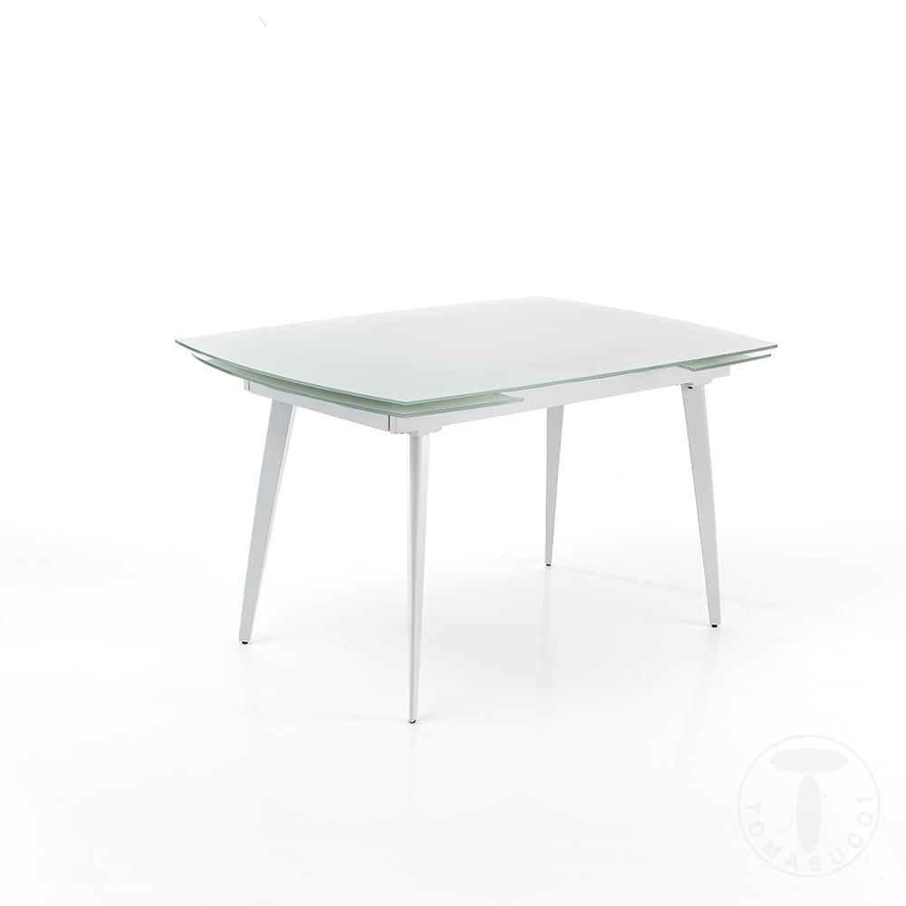 tavolo allungabile MOMO 120 WHITE