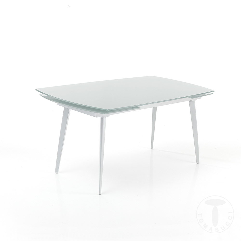 tavolo allungabile MOMO 140 WHITE