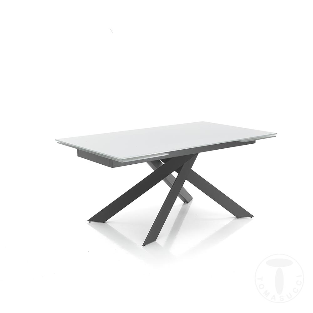 tavolo allungabile GIUKI WHITE
