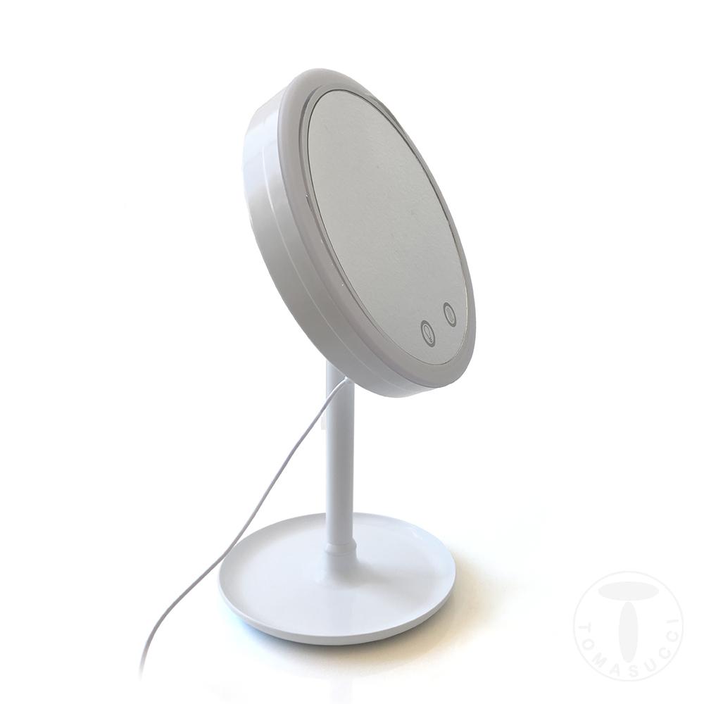 specchio da tavolo con led MAKEUP