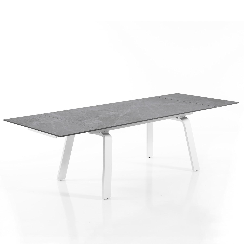 tavolo allungabile DEEM GREY MARBLE