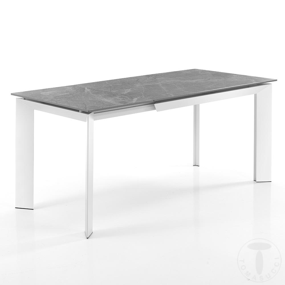 tavolo allungabile BLADE 120 GREY MARBLE