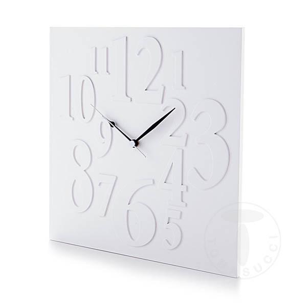 orologio da parete MIX WHITE