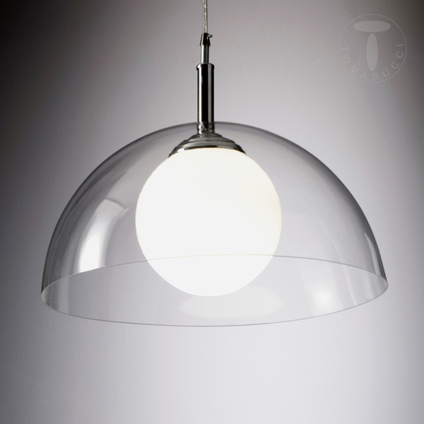 Lampade a sospensione lampadario silty trasparente - Lampadari ikea cucina ...