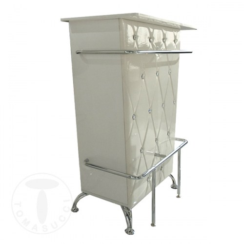 mobile bar DIVA WHITE